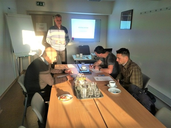 Sales staff training for KOVONA SYSYTEM